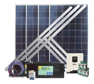 Kit Solar Completo Con Paneles 4x270 Energia Para Casas K3s