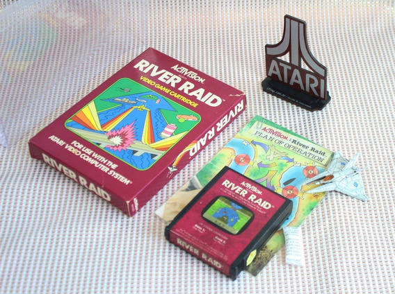 River Raid Activision [ Atari 2600 Cib ] Caixa + Manual Eua