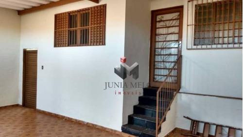 À Venda Por R$ 233.200  Casa Com 3 Dormitórios, 142 M² - Ipiranga - Ribeirão Preto/sp - Ca0614