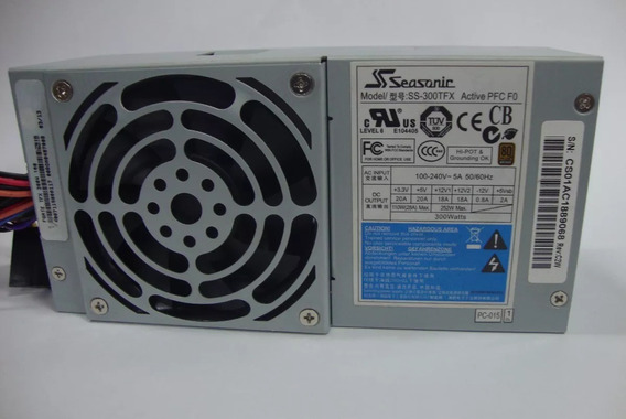 Fonte Atx Seasonic Ss-300tfx Active Pfc 300w