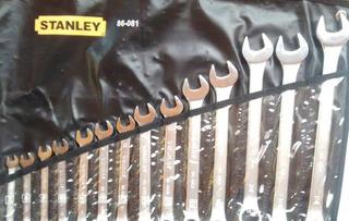 Juego De Llaves Combinadas Stanley 86081 14 Pzas