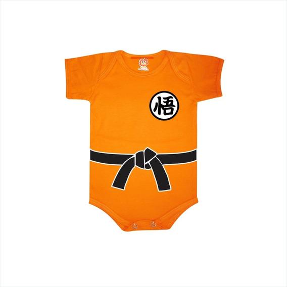 Roupinha De Bebê Goku - Dragon Ball