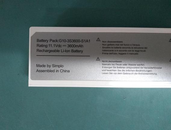 Bateria Original Positivo Mobo 3g Advent Ecs G10-3s3600-s1a1