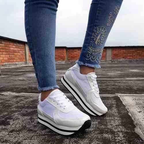 Adidas Zapatos Mujer N10 Houston en Zapatillas Tennis IHbe9ED2WY