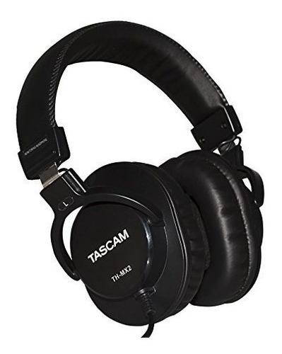 Tascam Th-mx2 Audifonos Diadema Estudio Grabacion Cable X 3m