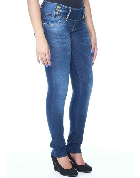 Calça Premium Jeans Sawary Legging Stretch Linda! #ndo