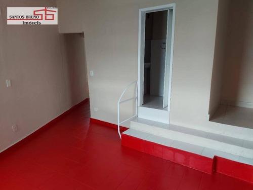 Casa Com 1 Dormitório Para Alugar, 45 M² Por R$ 850,00/mês - Freguesia Do Ó - São Paulo/sp - Ca0954