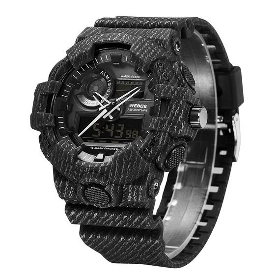 Weide Relógio Militar Homens Digital Wa3j8007