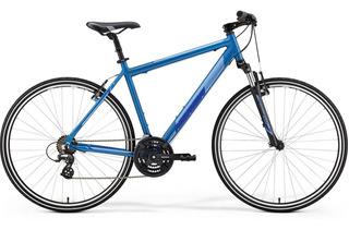 Bicicleta Merida Crossway 10v 2019 Palermo Rod 28 Urbana 24v