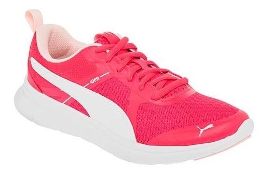 Tenis Puma Essential Fucsia Tallas Del #23½ Al #25½ Mujer Ppk