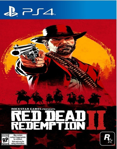 Red Dead Redemption 2 Ps4 - Mídia Física Frete Grátis