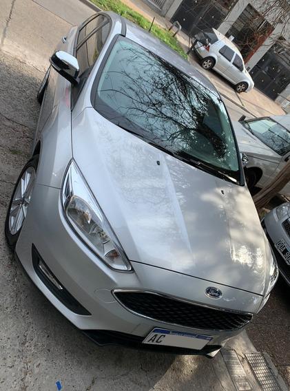 Ford Focus 1.6s 2017 5500 Km Reales Igual A Cero No Titanium