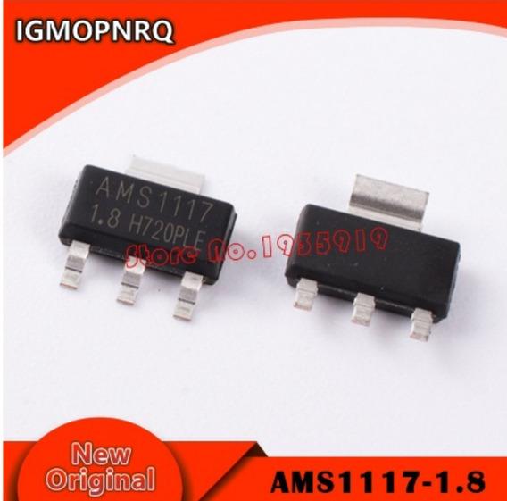Ams1117 1v8 Ams1117 1.8 Smd (50 Peças)