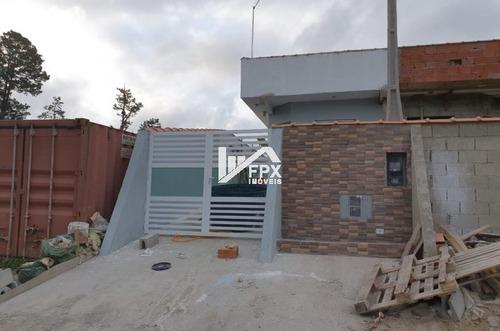 Imagem 1 de 14 de Casa Com 01 Suíte Jardim Coronel Em Itanhaém - Ca346-f