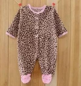 Macacão Inverno Bebê Quentinho Fleece Importado Menina 3 M