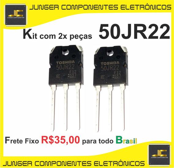 50jr22 - 50 Jr 22 - Kit Com 2x Peças
