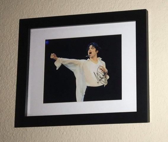 Cuadro Firmado Por Michael Jackson Con Certificado 2do Mod