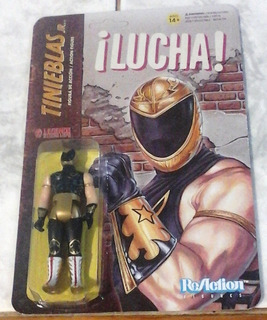 Tinieblas Jr. Reaction Marca Super 7 Mide 10 Cm De Altura