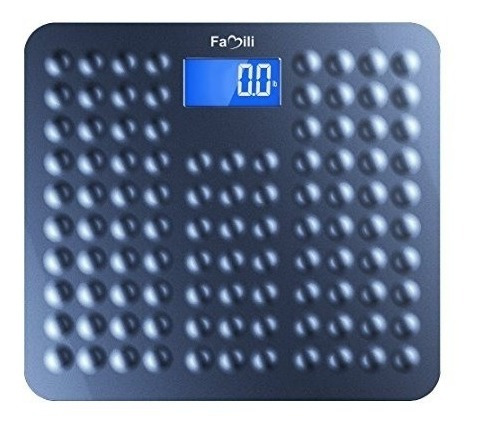 Báscula De Baño Digital De Peso Corporal Antideslizante Pp