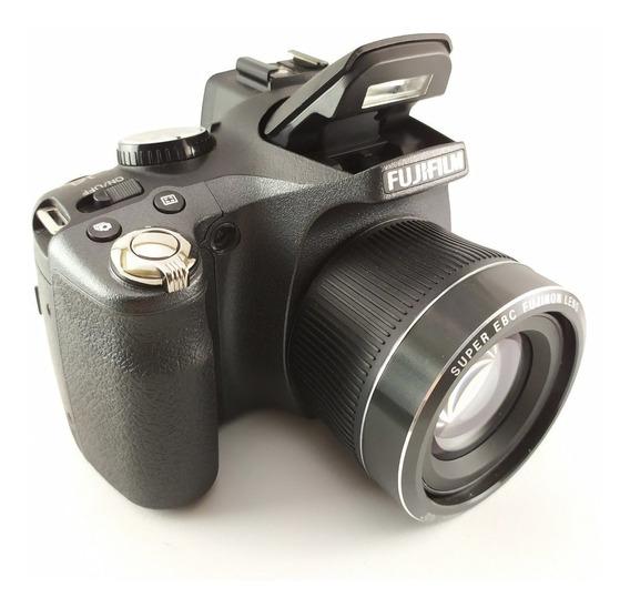 Câmera Fujifilm Finepix Sl300 Original Leia Anuncio Vitrine