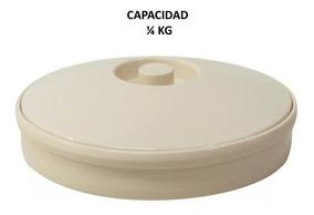 Tortillero De Melamina Beige 1/4 Kg 12 Piezas Incluye Envío