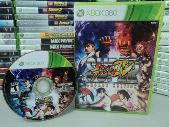 Super Street Fighter Iv Arcade Edition Xbox 360 Original