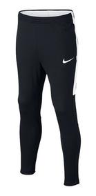 Pants Nike, Dry Academy Futbol Niños, Negro/blanco