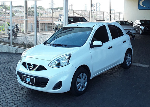 Nissan March 1.0 Branco 2019