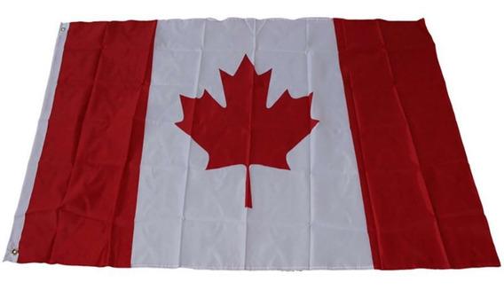 Bandera De Canada 1.5por90cm Coleccion Selecccion E-399
