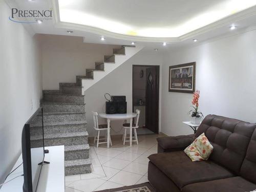 Sobrado Com 2 Dormitórios À Venda, 112 M² Por R$ 440.000,00 - Jardim Terezópolis - Guarulhos/sp - So0033