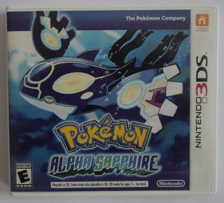 Pokemon Alpha Sapphire Nintendo 3ds Envio Gratis