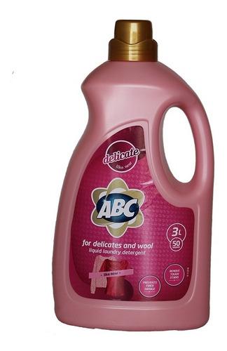 Detergente Líquido Abc De 3 Litros Para Ropa Delicada