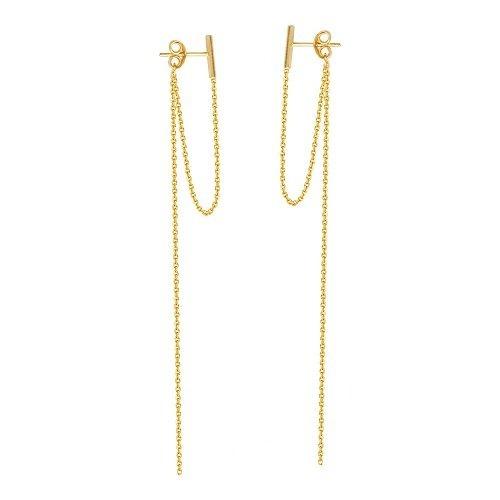 Pendientes Para Chicas Mf025090-14y Diamondjewelryny