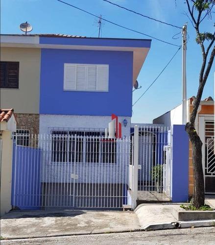 Sobrado Com 3 Dormitórios, 250 M² - Venda Por R$ 837.000,10 Ou Aluguel Por R$ 3.500,00/mês - Chácara Inglesa - São Paulo/sp - So0125