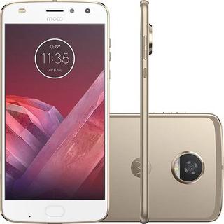 Smartphone Motorola Moto Z2 Play 64gb 12mp - Ouro (vitrine)