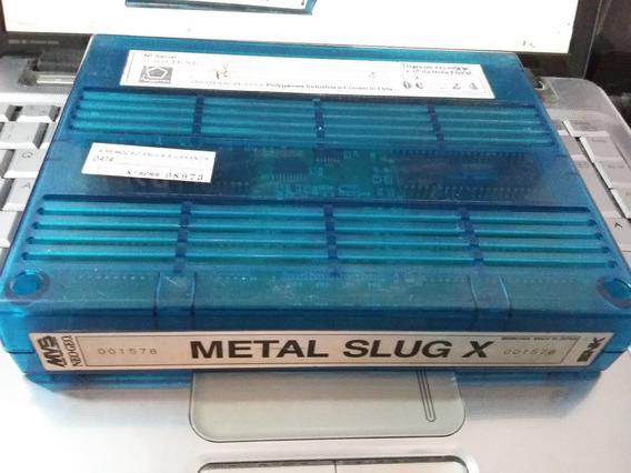 Metal Slug X Mvs Original - Neo Geo Snk