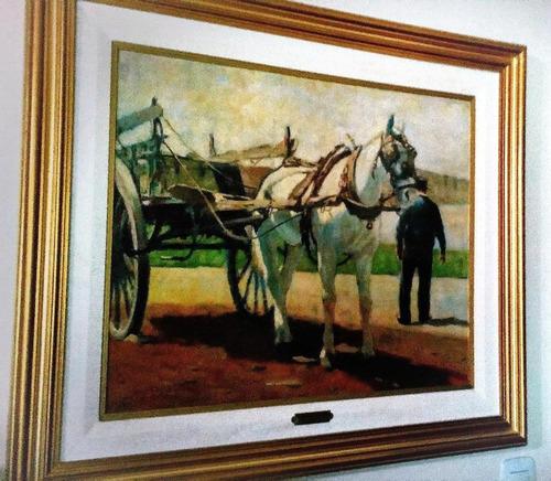 Cuadro Al Óleo Original De Manuel Vidal Barros 60 X 70 Cm.