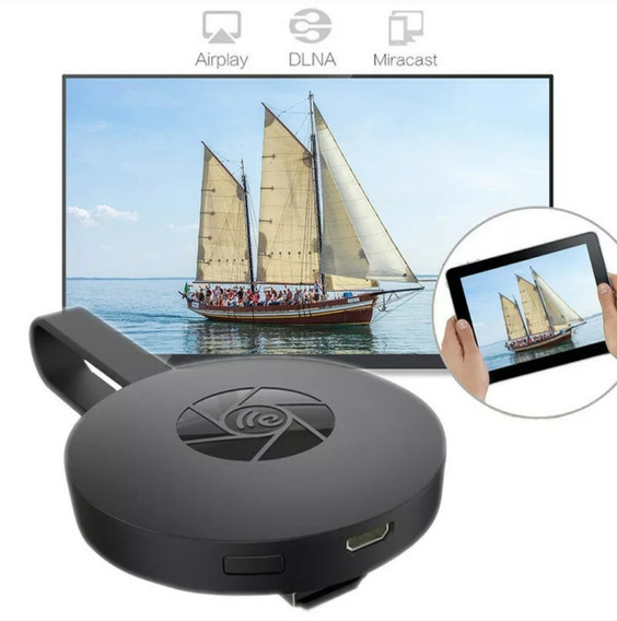 Chromecast Miracast 2° Geração Hdmi Receptor Wi-fi De Mídia