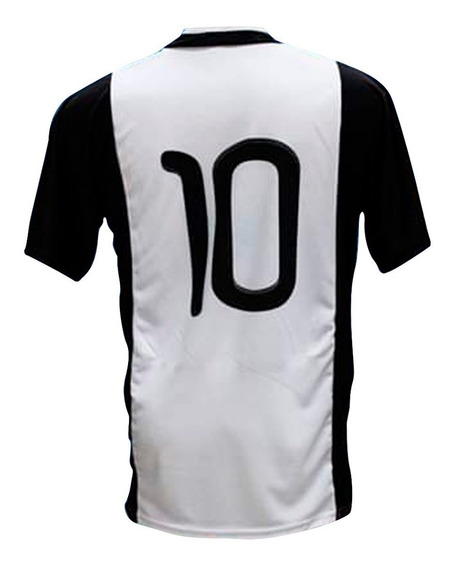 10 Camisetas De Futbol Del 2 Al 11 Color A Eleccion