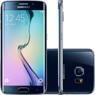 Samsung Galaxy S6 Edge G925i 32/3gb Single Preto Mancha Tela