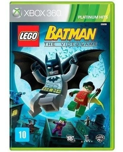 Jogo Lego Batman The Video Game Xbox 360 Novo Frete 10,00