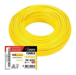 Nexans Cable #14 100m Amarillo Technologiestrade Th238ex