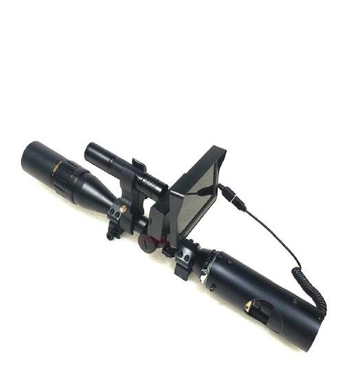 Visão Noturna 200m P/luneta Infravermelho + 3 Baterias