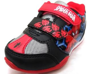 Zapatillas Marvel Spiderman Para Bebe Nueva Temporada
