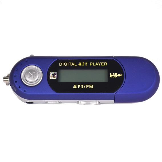 8 Gb Usb Mp4 Mp3 Music Video Player Gravação Com Rádio Fm Eb