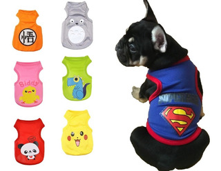 Ropa Jersey Playera Para Perro Gato Varios Diseños Y Colores