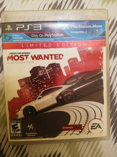 Need For Speed Most Wanted Ps3, Edición Limitada