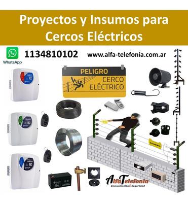 Instalacion Y Venta De Cercos Electricos. Alfa Telefonía