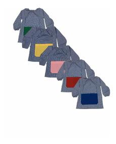 Pintor Jardin Cuadrille Cuello Elastico Talles 1 Al 5