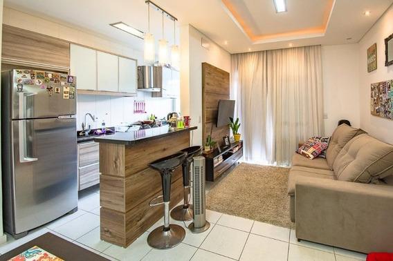 Apartamento Em Itacorubi, Florianópolis/sc De 55m² 1 Quartos À Venda Por R$ 390.000,00 - Ap327767